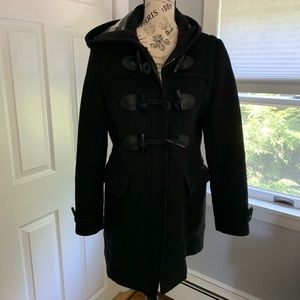 Burberry Brit wool toggle jacket. Size 10